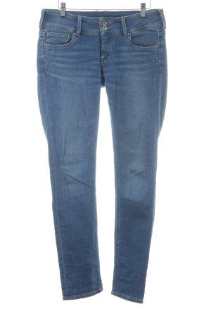 Pepe Jeans Jeans coupe-droite bleuet style boyfriend