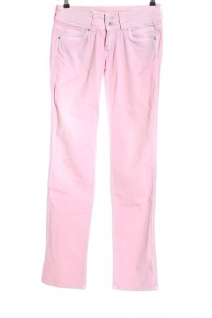 Pepe Jeans Straight-Leg Jeans pink Casual-Look