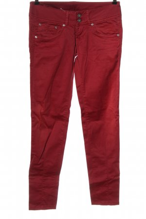 Pepe Jeans Stretch Jeans rot Casual-Look