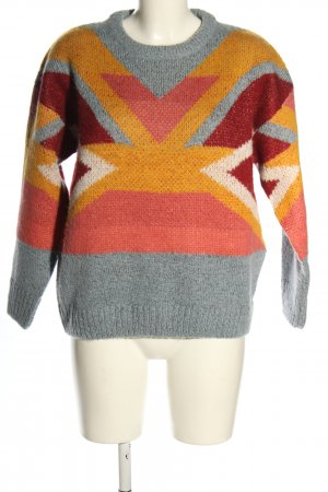 Pepe Jeans Strickpullover Allover-Druck Casual-Look