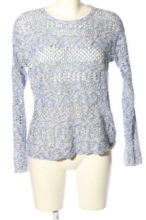 Pepe Jeans Strickpullover himmelblau-weiß meliert Casual-Look