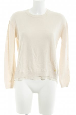 Pepe Jeans Strickpullover creme Casual-Look