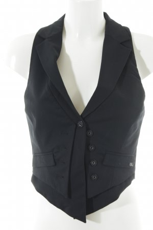 Pepe Jeans Strickweste schwarz Business-Look