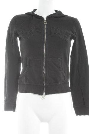 Pepe Jeans Sweatjacke schwarz Casual-Look