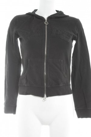 Pepe Jeans Sweatjack zwart