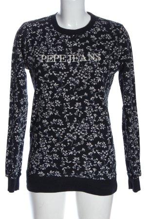 Pepe Jeans Sweatshirt Allover-Druck Casual-Look