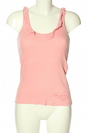 Pepe Jeans Tanktop roze casual uitstraling