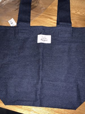 Pepe Jeans Burlap Bag dark blue