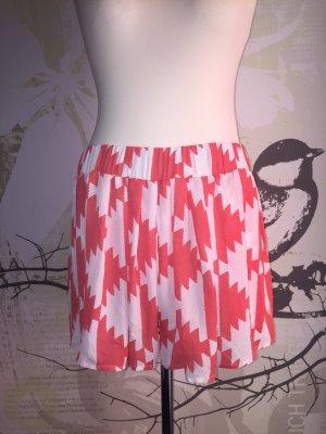 Pepe Jeans Tyne Chiffon-Shorts, Gr. XL (Gr. 42), Koralle/weiß Neu