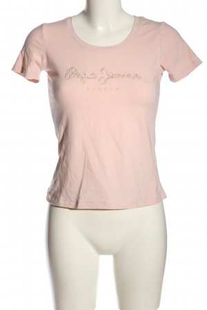 Pepe Jeans U-Boot-Shirt pink Casual-Look