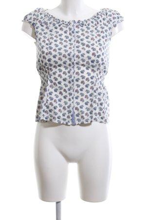 Pepe Jeans Boothalsshirt bloemenprint casual uitstraling
