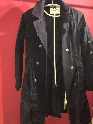 Pepe Jeans Manteau à capuche bleu foncé