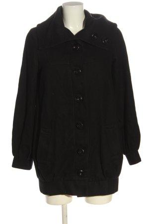 Pepe Jeans Płaszcz przejściowy czarny W stylu casual
