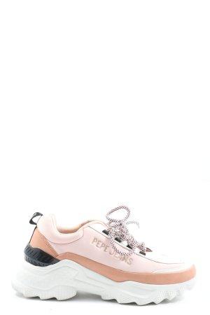 Pepe Jeans Wedge Sneaker pink-nude Casual-Look