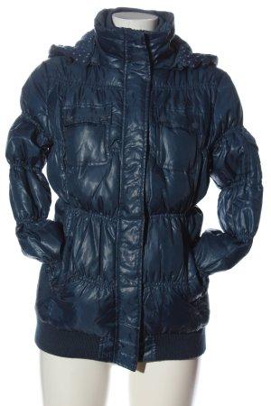 Pepe Jeans Winterjacke blau Casual-Look