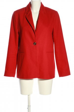 Pepe Jeans Woll-Blazer rot Business-Look