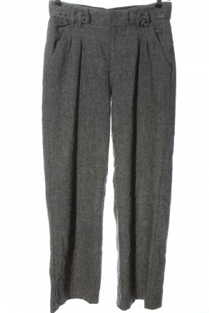 Pepe Jeans Woolen Trousers light grey flecked business style