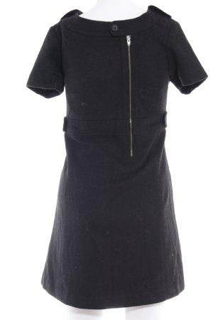 Pepe Jeans Wollkleid schwarz klassischer Stil