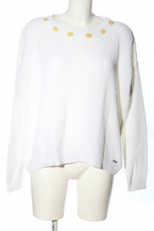 Pepe Jeans Zopfpullover weiß Casual-Look