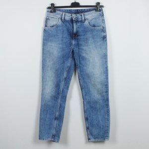 PEPE Mom Jeans Gr. 27 blau Modell: Taper (18/09/484*)