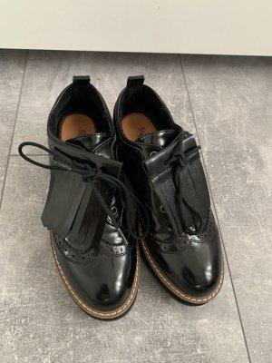 Pepe Jeans Bottines à plateforme noir