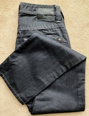 Pepe Sommer-Jeans, schwarz, Gr.29/32, cooles halbshiny Material