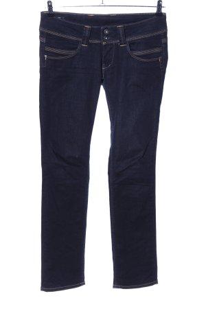 Pepe Jeans elasticizzati blu stile casual