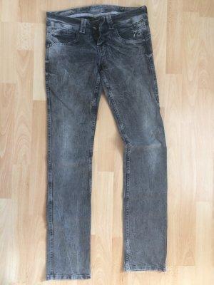 PepeJeans - Gräuliche Jeans mit Waschung