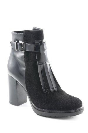 Peperosa Booties schwarz Elegant