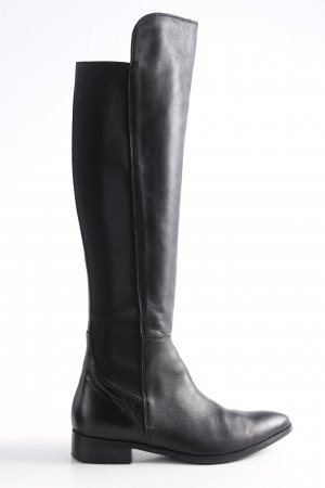 Peperosa Stretchstiefel schwarz Casual-Look
