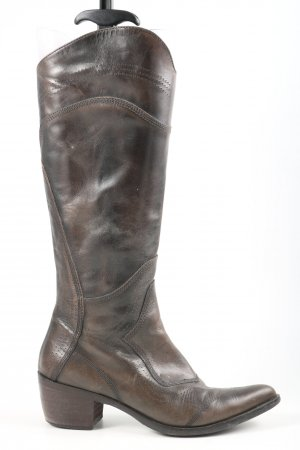 Peperosa Buty w stylu western brązowy W stylu casual