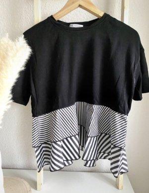 Peplum-Shirt | Zara | S