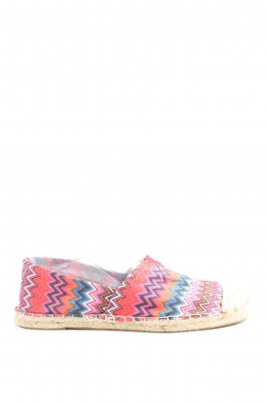 Peppa rose Espadrille sandalen abstract patroon casual uitstraling