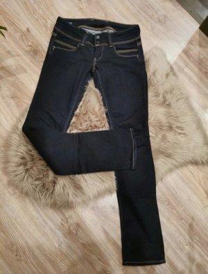Pepe Jeans Drainpipe Trousers dark blue