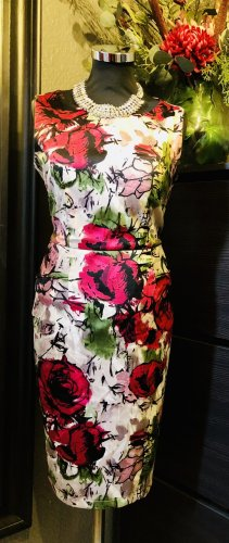 per una by Marks & Spencer Robe péplum multicolore