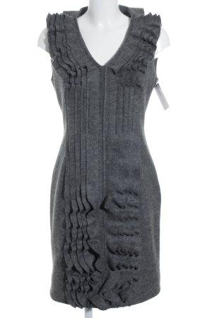 Per una speciale Vestito di lana grigio scuro Lana