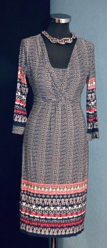 Per Una Stylisch Ethnik Twist Kleid