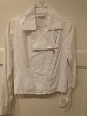 Agnes Camisa de manga larga blanco