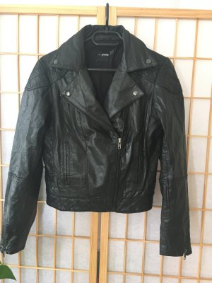 Asos Petite Leather Jacket black