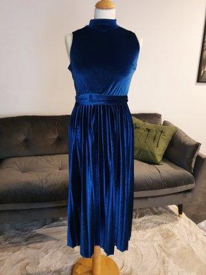 Asos Sukienka midi ciemnoniebieski