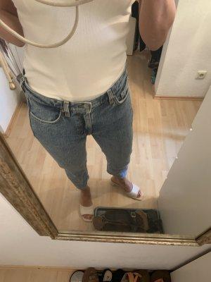 ARKET Jeans a 7/8 blu pallido