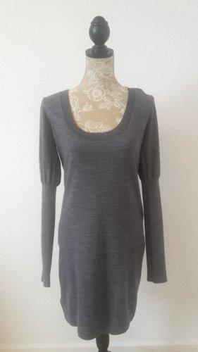MNG SUIT Vestito di lana grigio