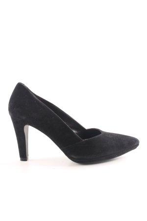 Perlato High Heels schwarz Casual-Look