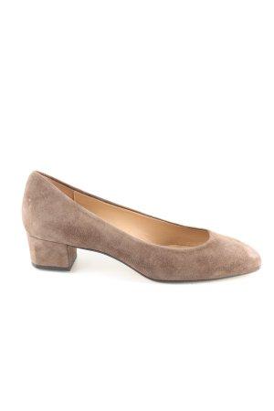 Perlato Komfort-Sandalen braun Casual-Look