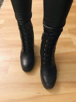 Perlato Stiefeletten schwarz