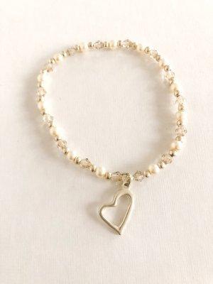 Perlen Armband Herz