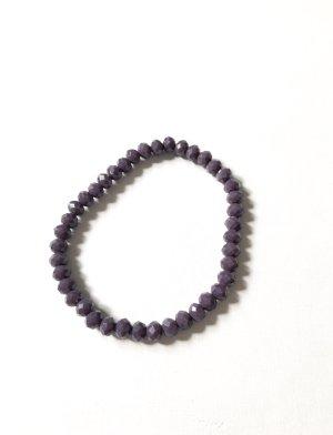 Perlen Armband lila