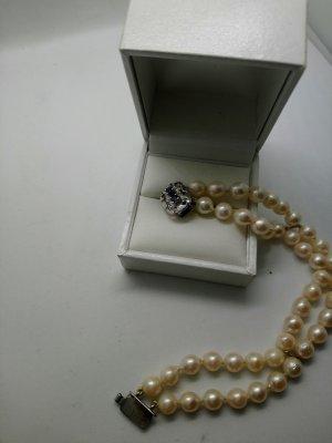 Perlen Armband mit Silber verschluss