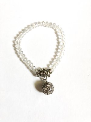 Pearl Bracelet silver-colored