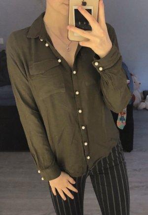 Perlen Bluse H&M